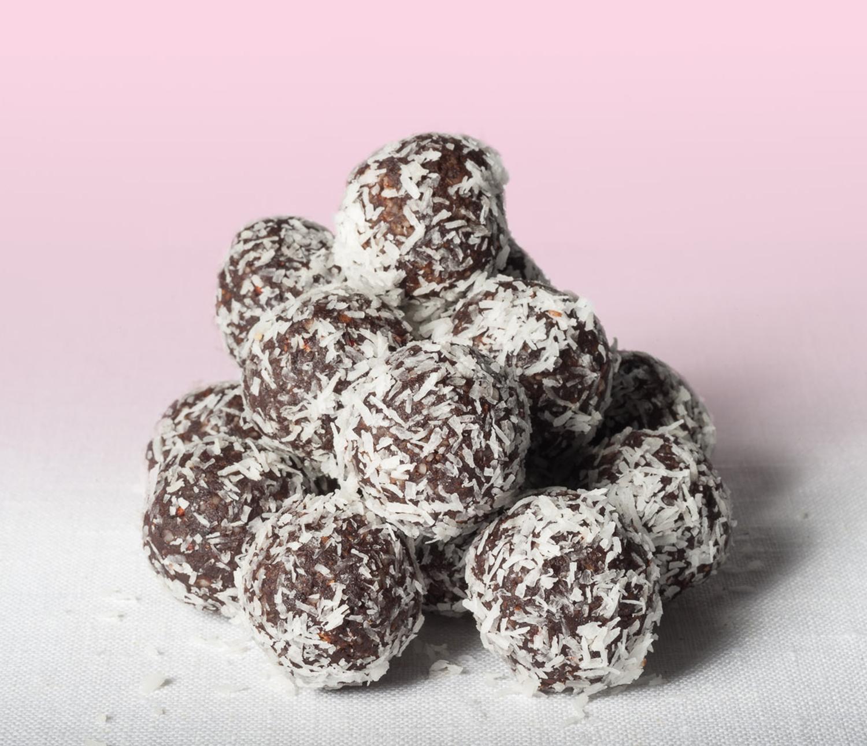 Raspberry Cocolossal Balls