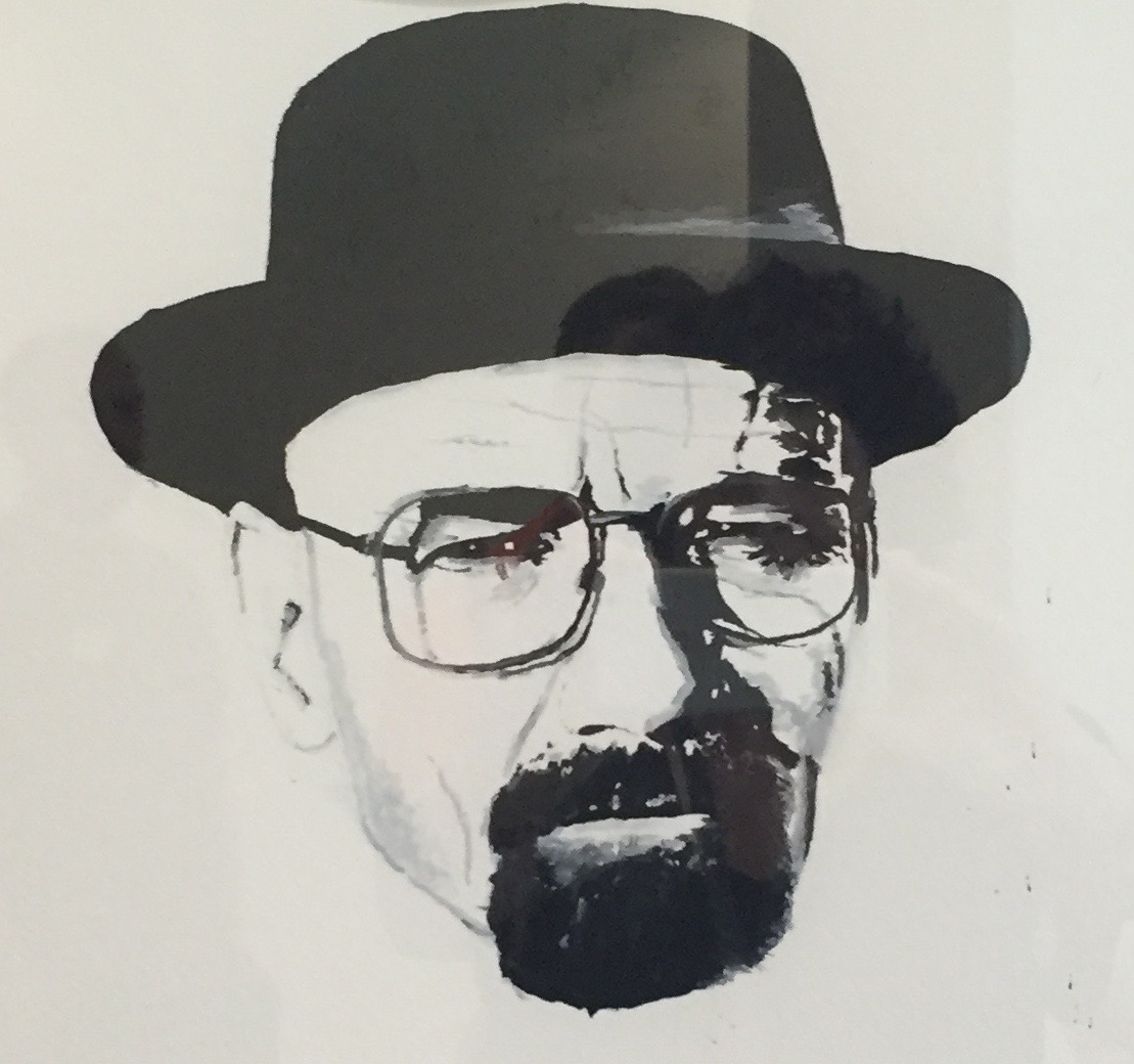 Portrait of Walter White (Bryan Cranston), Breaking Bad