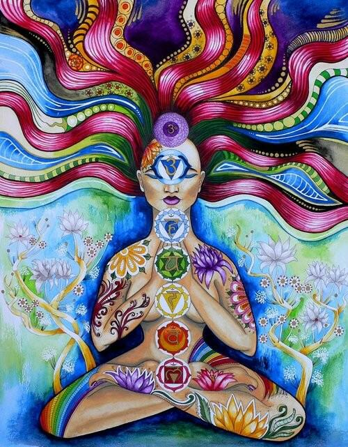 For a quick download on the chakras check out this Ram Dass article