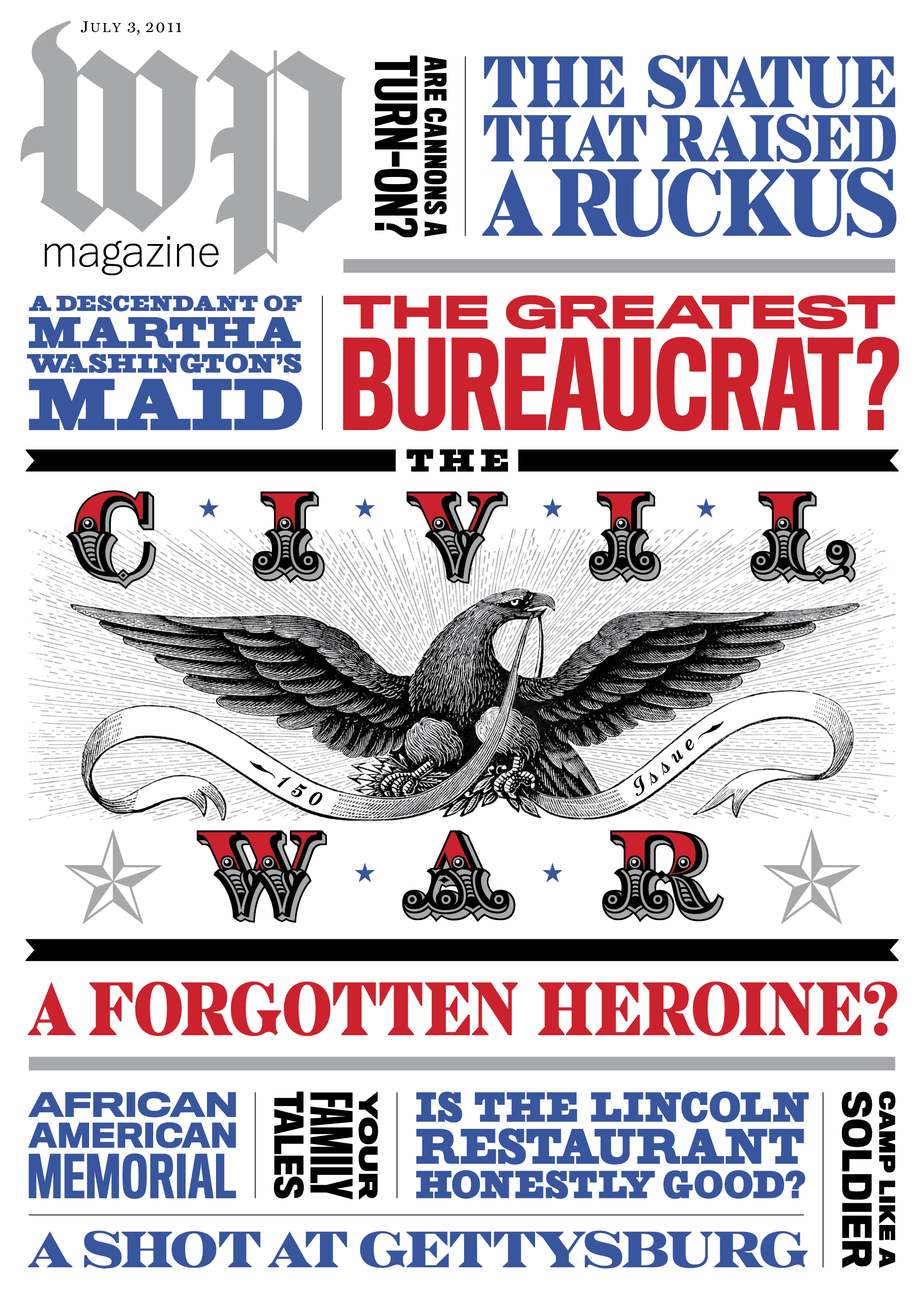 Washington Post Magazine  | cover design for special issue