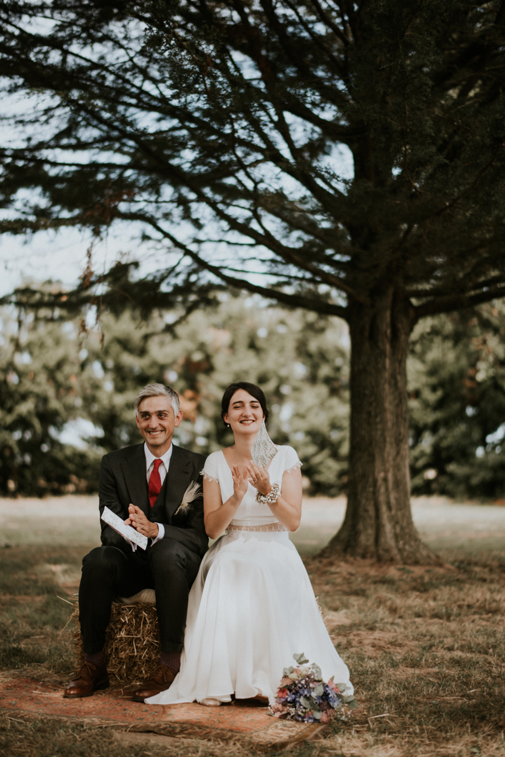 documentary wedding photographer in south of france