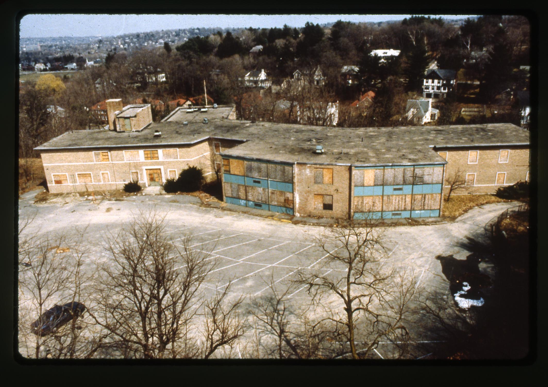 ABANDONED CLAFLIN SCHOOL