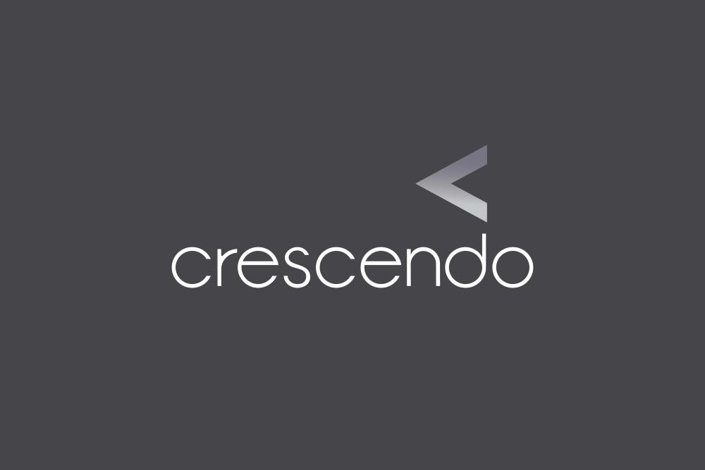 Crescendo Consulting logo Salt Design