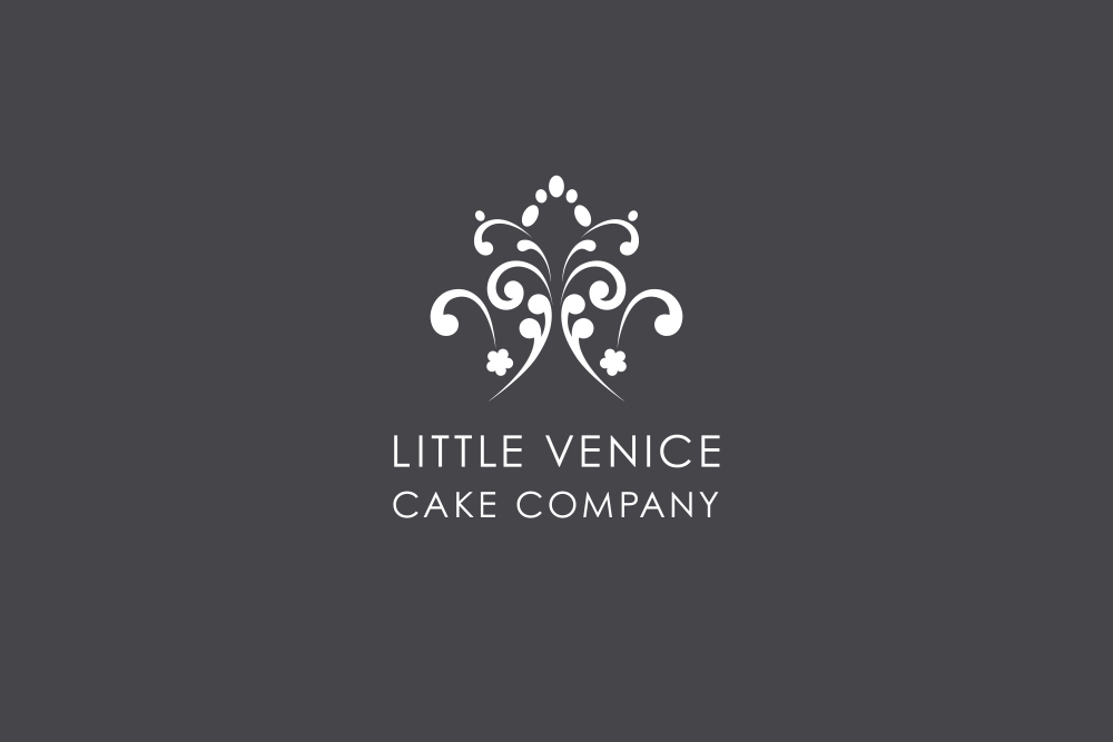 Little Venice Cake Co logo Salt Design