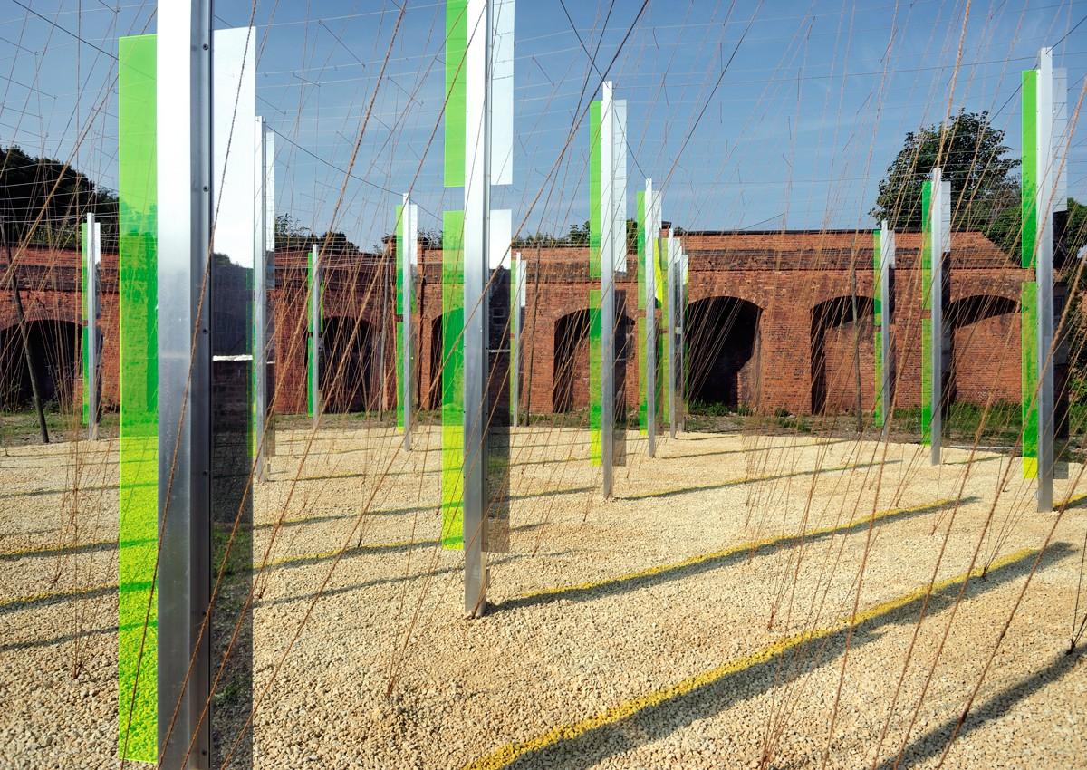 Green/Light (for M.R.) : Jyll Bradley : Triennial 2014