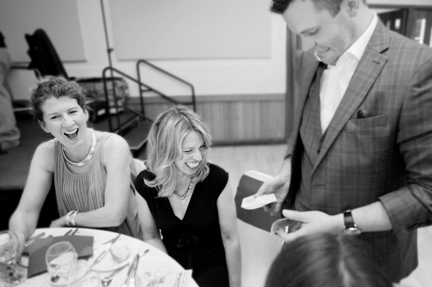 Victoria, Stella and Chris Harding