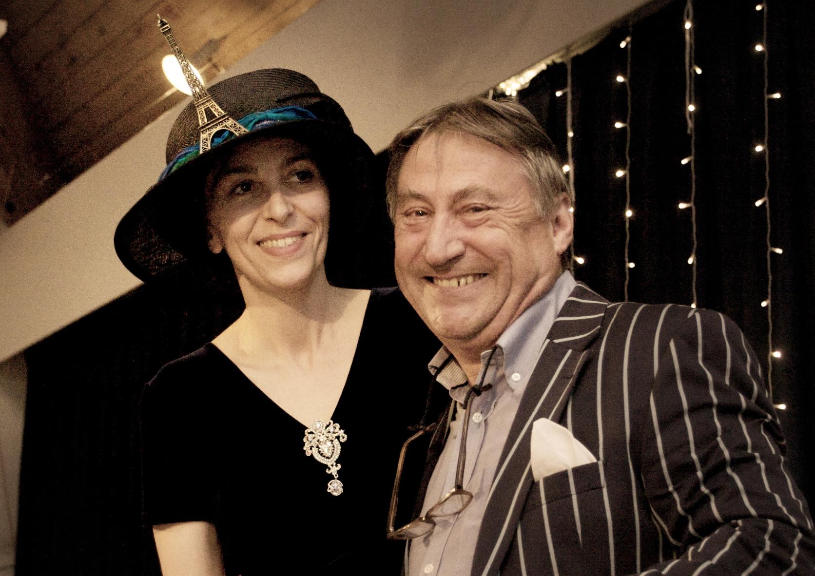 Nathalie Banaigs and David Selves (Master of Ceremony)