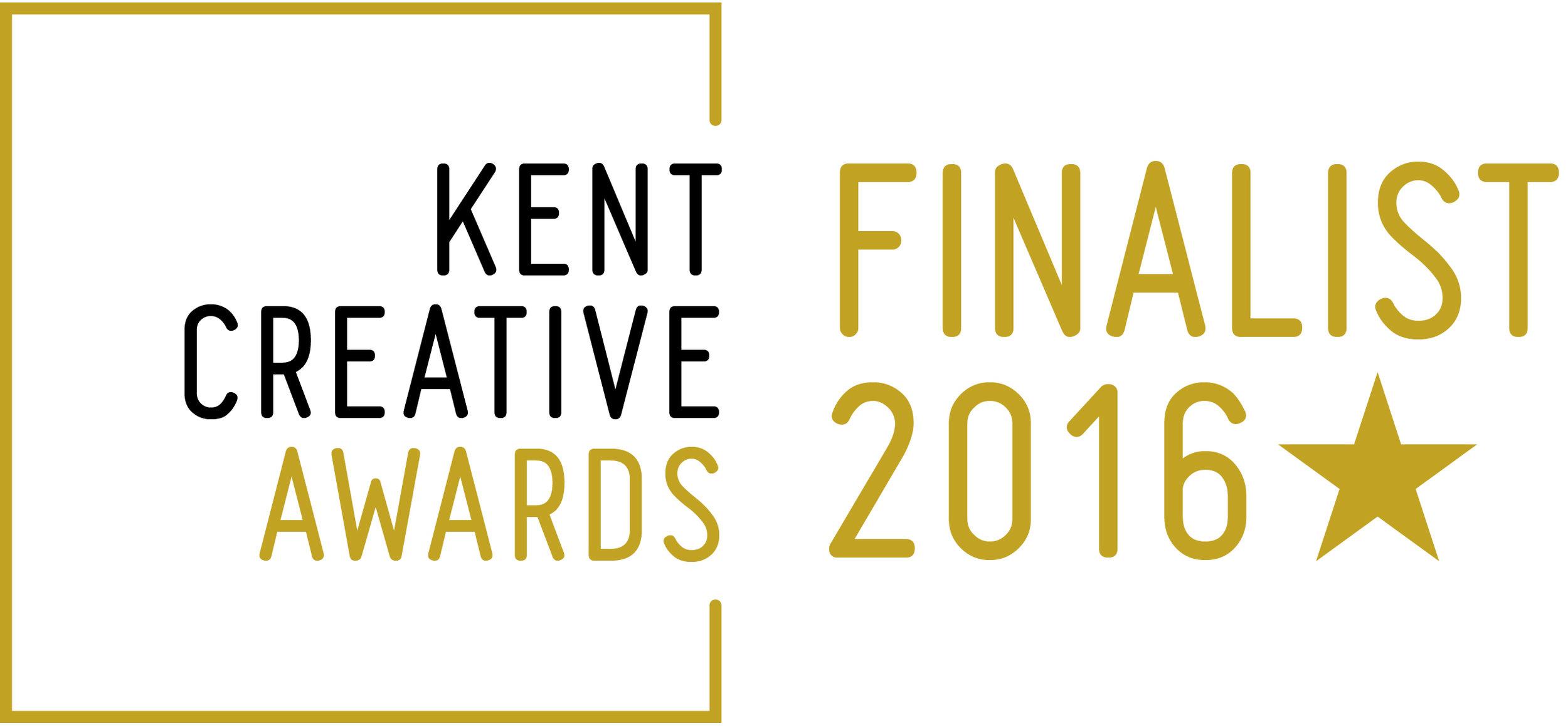 Kent Creative Finalist LOGO 2016