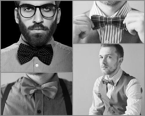 Bow-tie attire for men