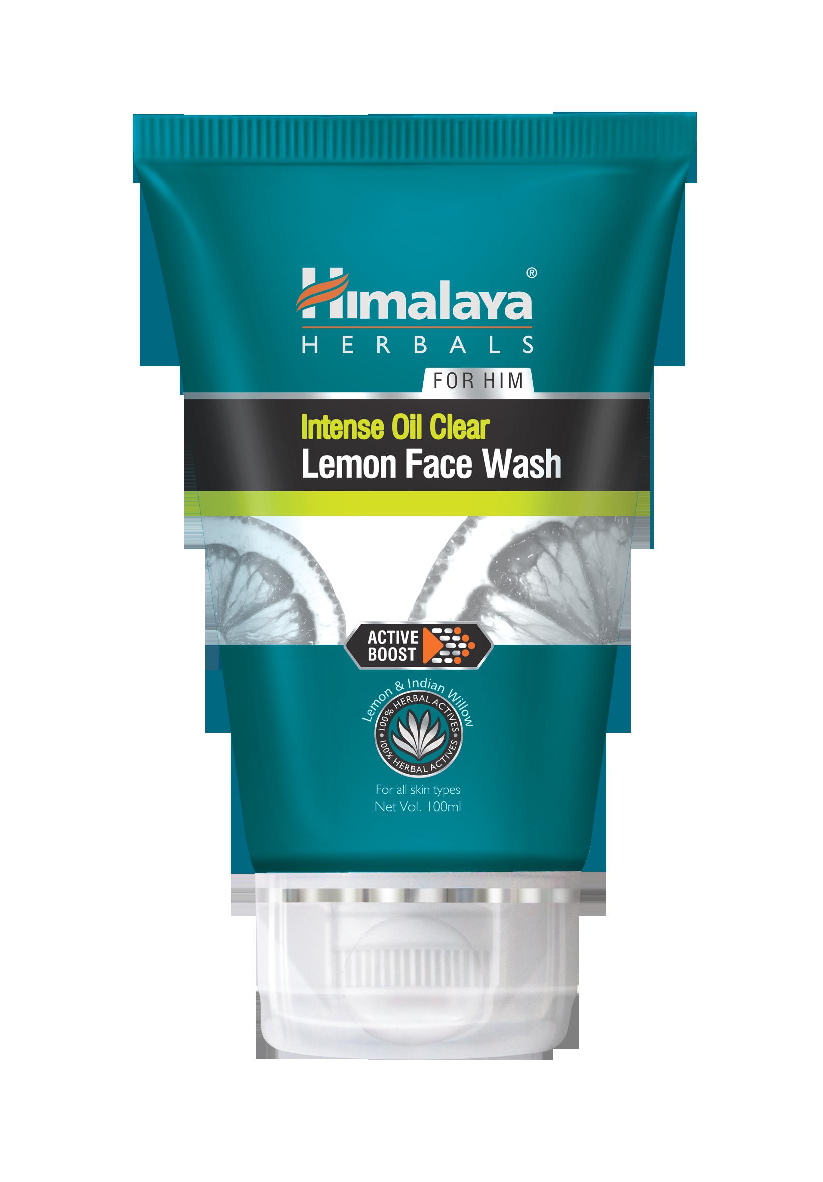 Himalaya_Intense Oil Clear Lemon Face Wash