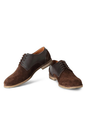 This Brown Suede leather shoes are not only versatile but a must have if you are a denim lover.