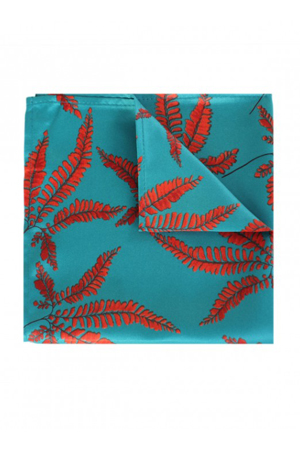 This tropical print pocket square is for your summer suit. Best for a Khaki or an olive green cotton suits.