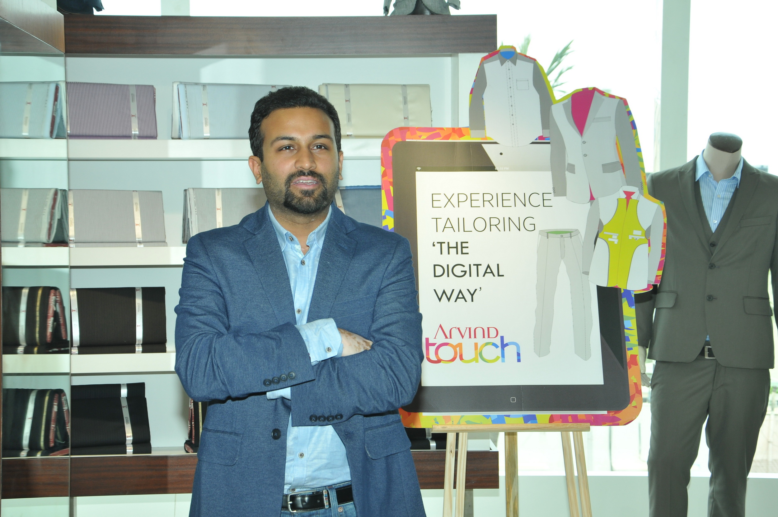 Executive Director at Arvind Ltd – Mr. Kulin Lalbhai starting the session.