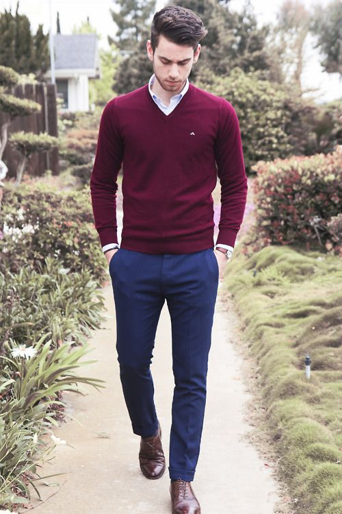 burgundy-v-neck-sweater-white-dress-shirt-navy-dress-pants-dark-brown-oxford-shoes-original-3799.jpg