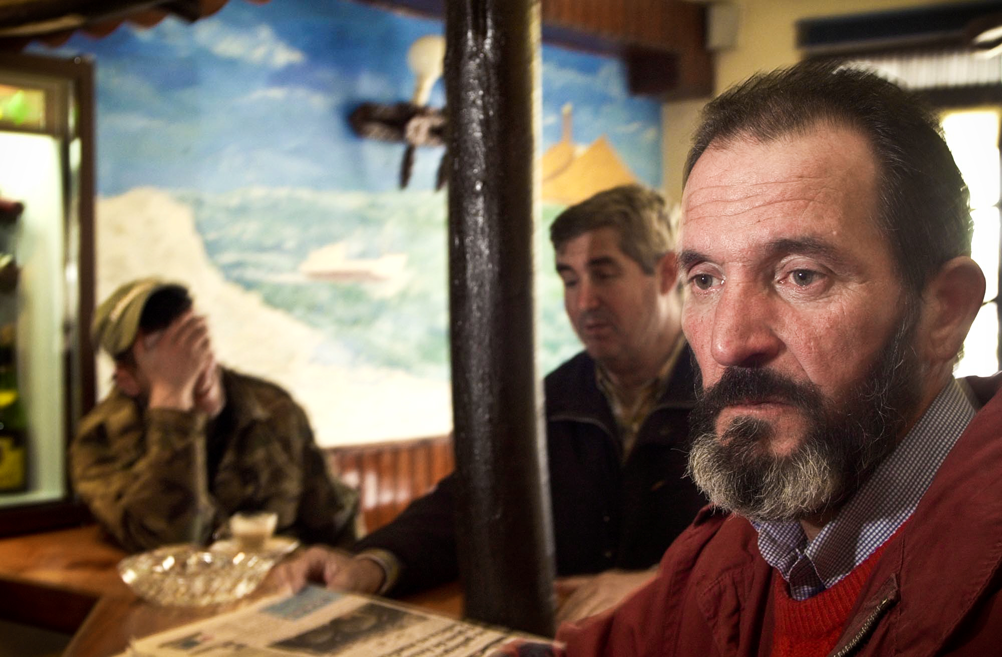 man at the bar