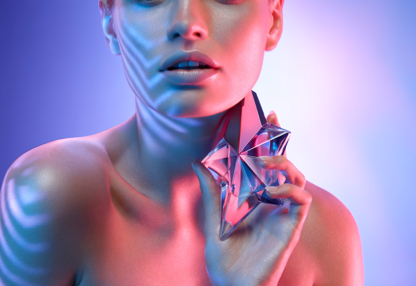 Retouching - Studio Invisible | Warren Du Preez & Nick Thornton Jones - Thierry Mugler Angel