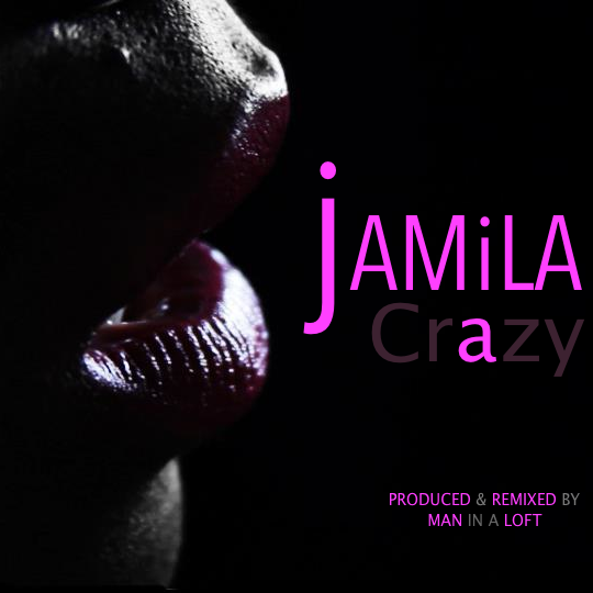 Crazy, simply put. Is Jamila's tale of Love being Stronger than pride.  In this sultry and electrified song Jamila unveils to us how it is not  over till your hearts says so.