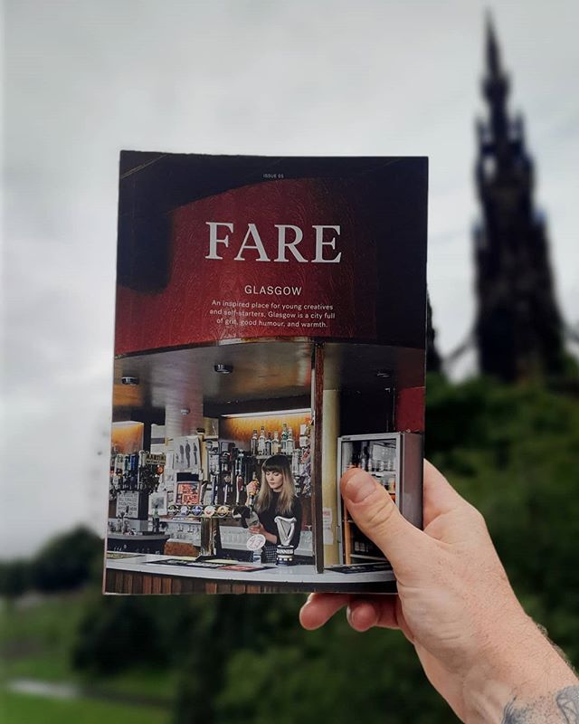 Got my hands on the latest issue of @faremag guide to Glasgow. It's a belter.
