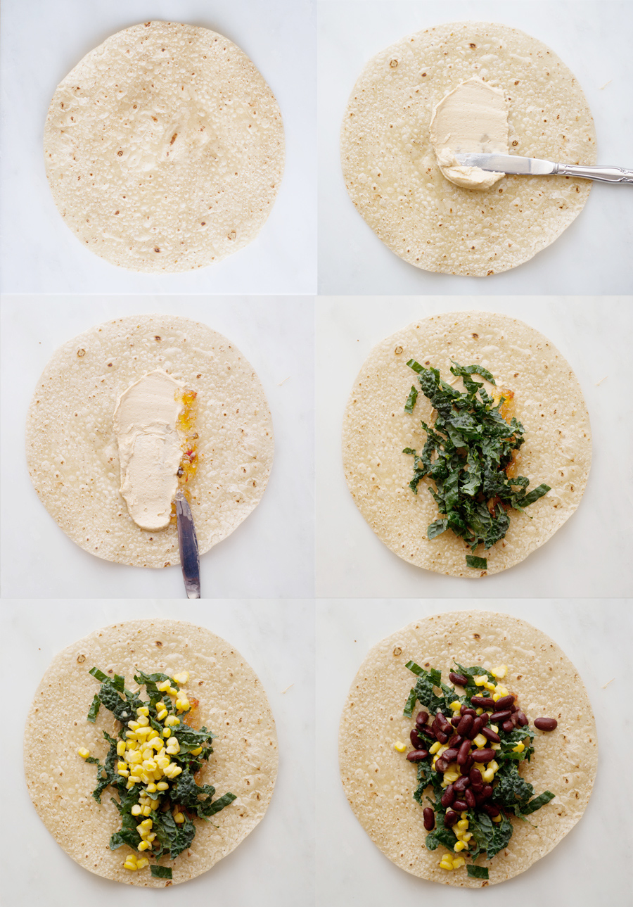 kale burrito