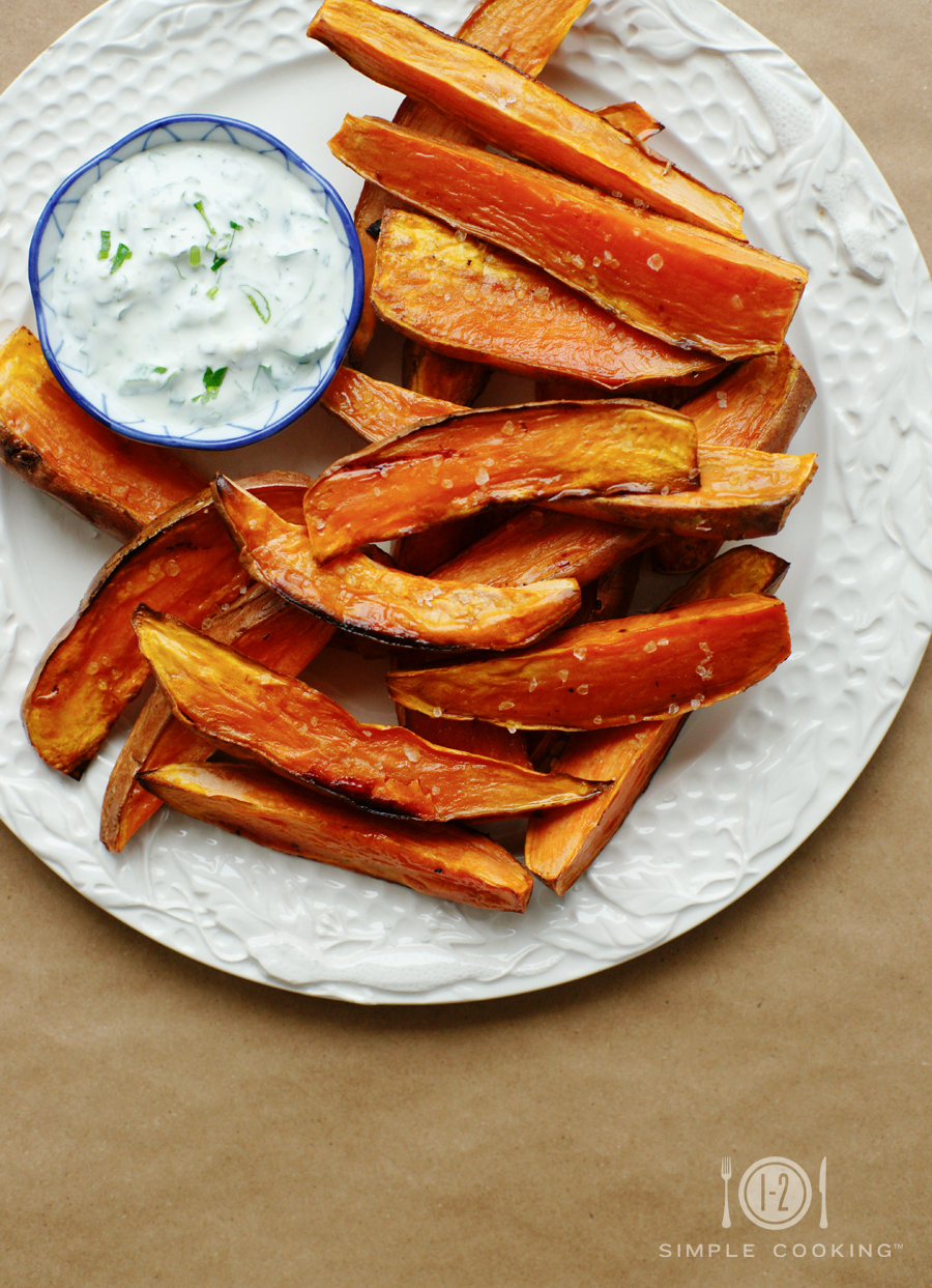 Baked Sweet Potato Fries 1 2 Simple Cooking
