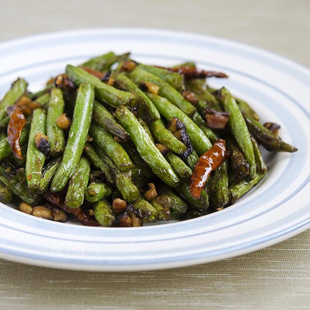 sichuan-dry-fried-green-beans