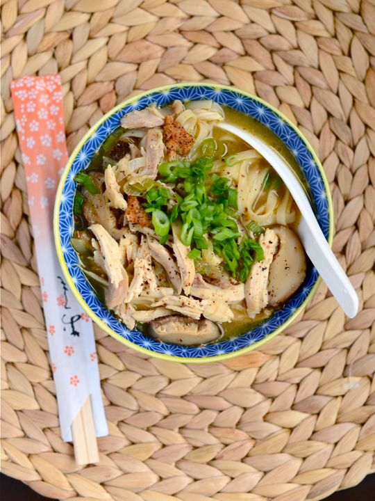 Sichuan-Style Chicken Noodle Soup