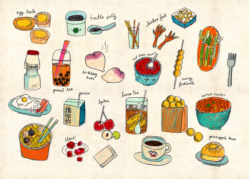 hong-kong-food-poster