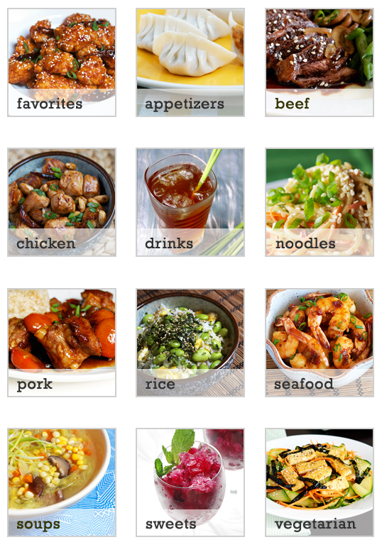 Appetite for China Recipe Archive