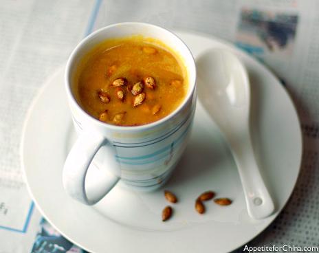 Tea-Scented Pumpkin Soup