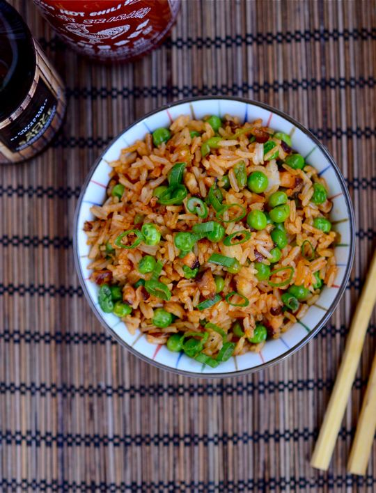Sriracha Fried Rice