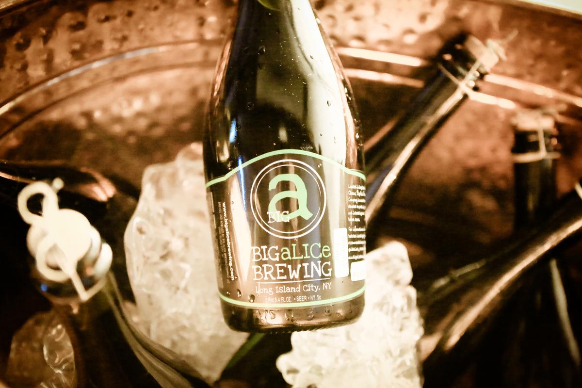 Beers from Big Alice Brewinng