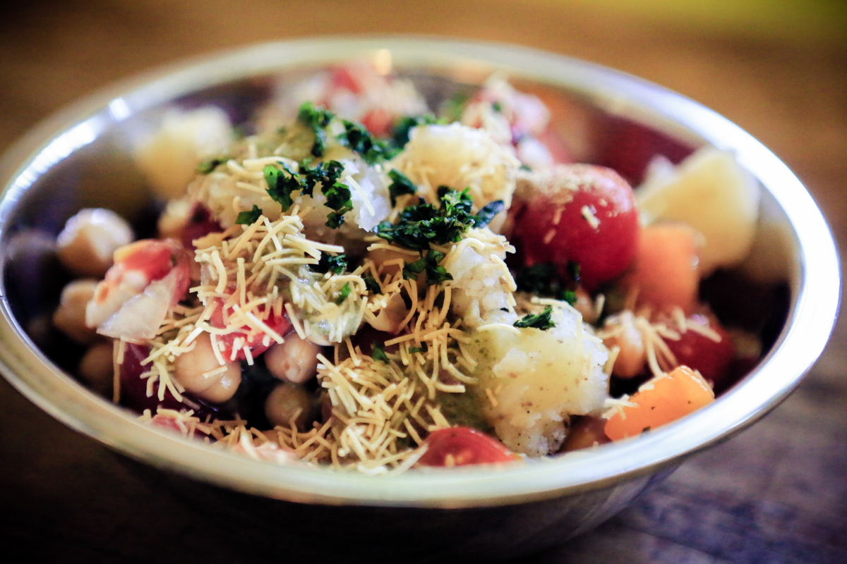 Sweet and Sour Tomato Chaat