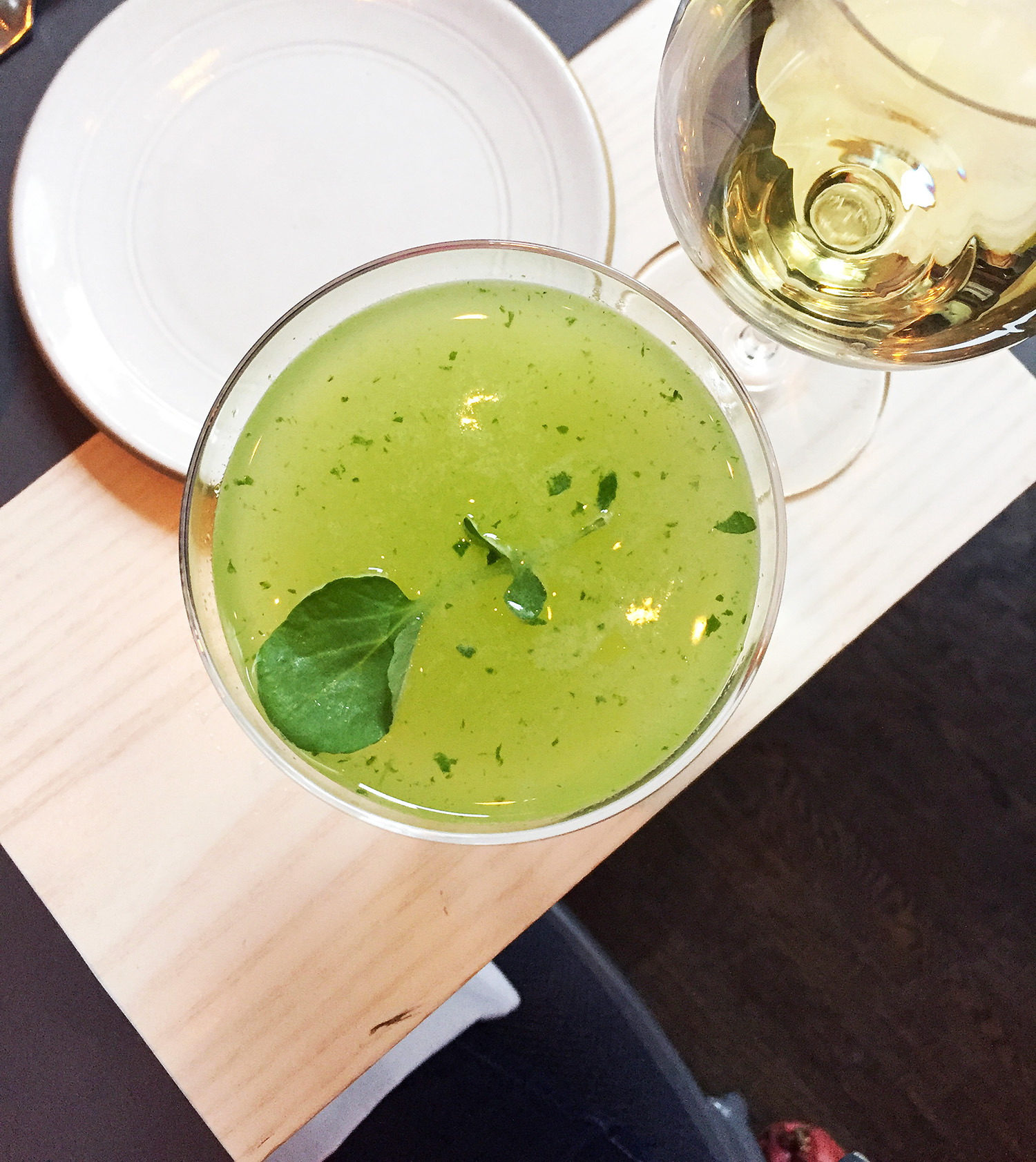 Watercress Cocktail | Appetite for China