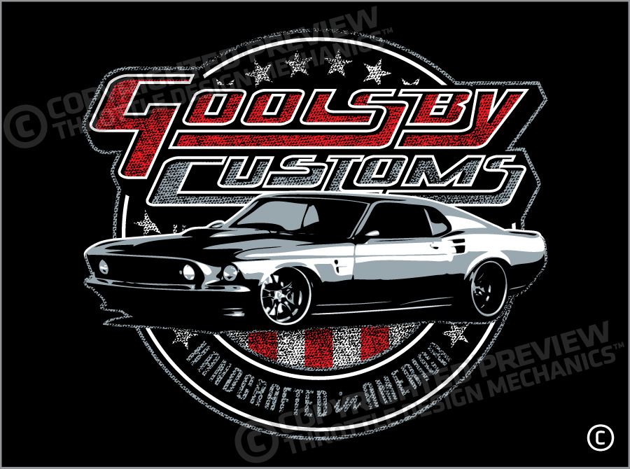 Goolsby Customs Mustang
