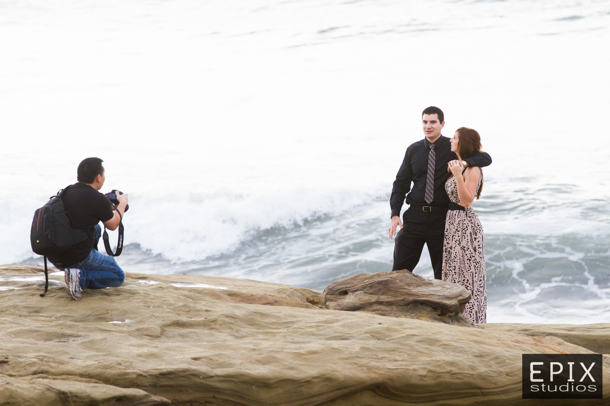 """""""Ok, we are going to wait here and then when the waves come crashing in, smile!"""""""