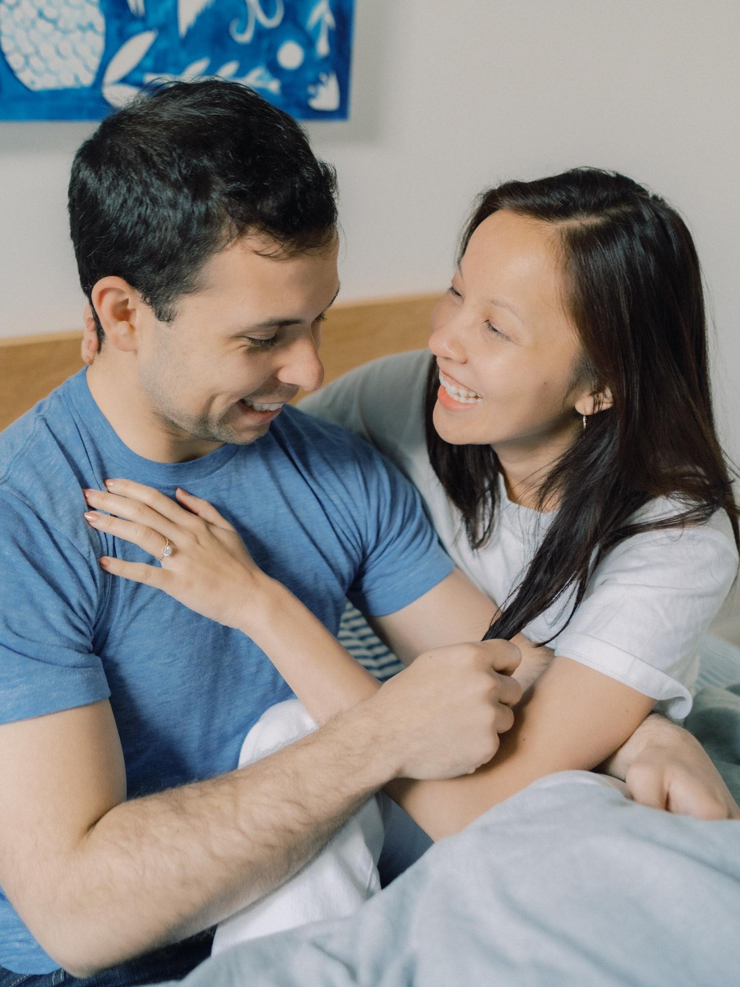Cindy & Kutay In-Home Couple