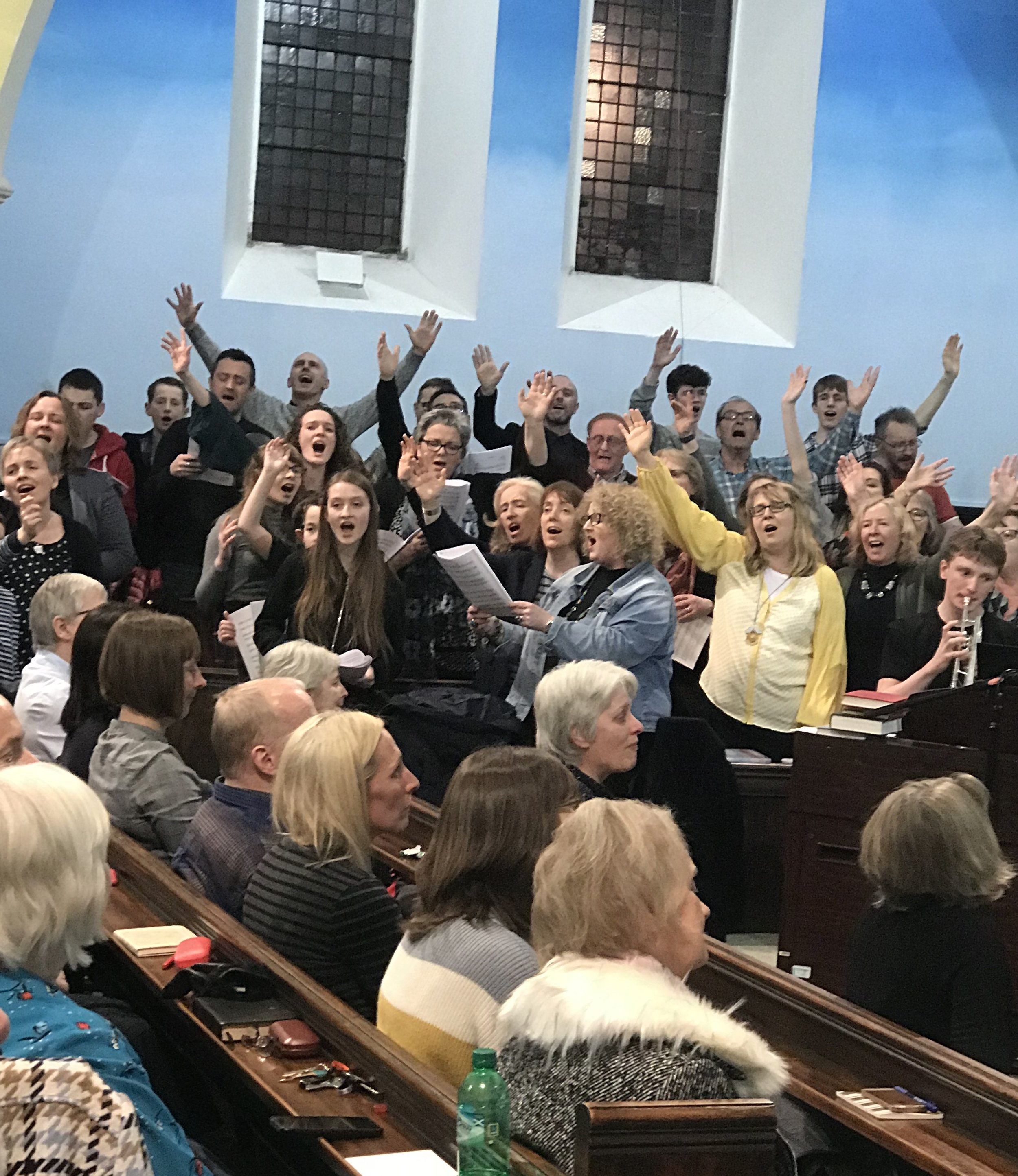Some of the united choir