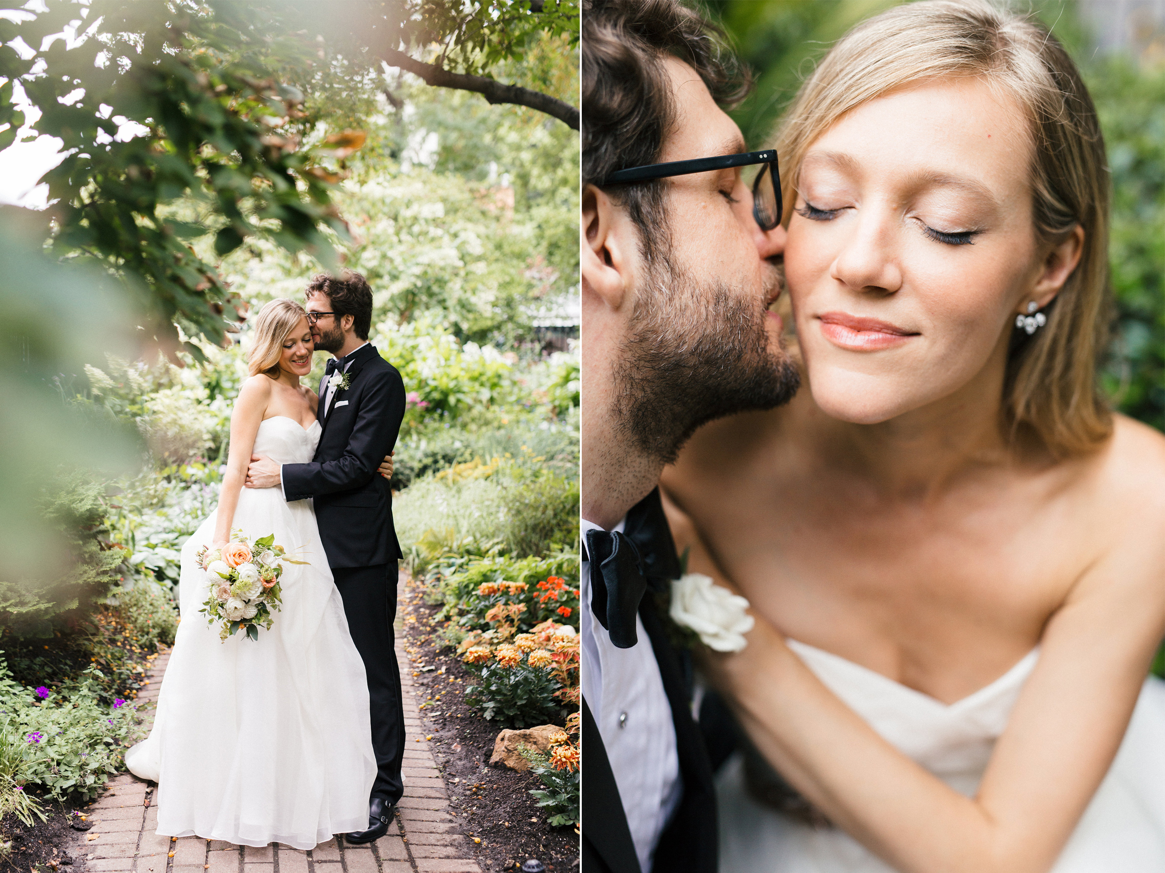Kiss in the Park Soho Wedding