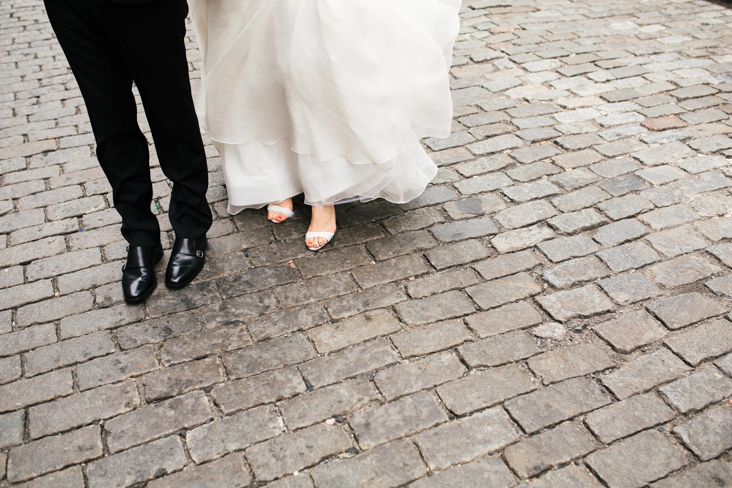 Soho Wedding Feet