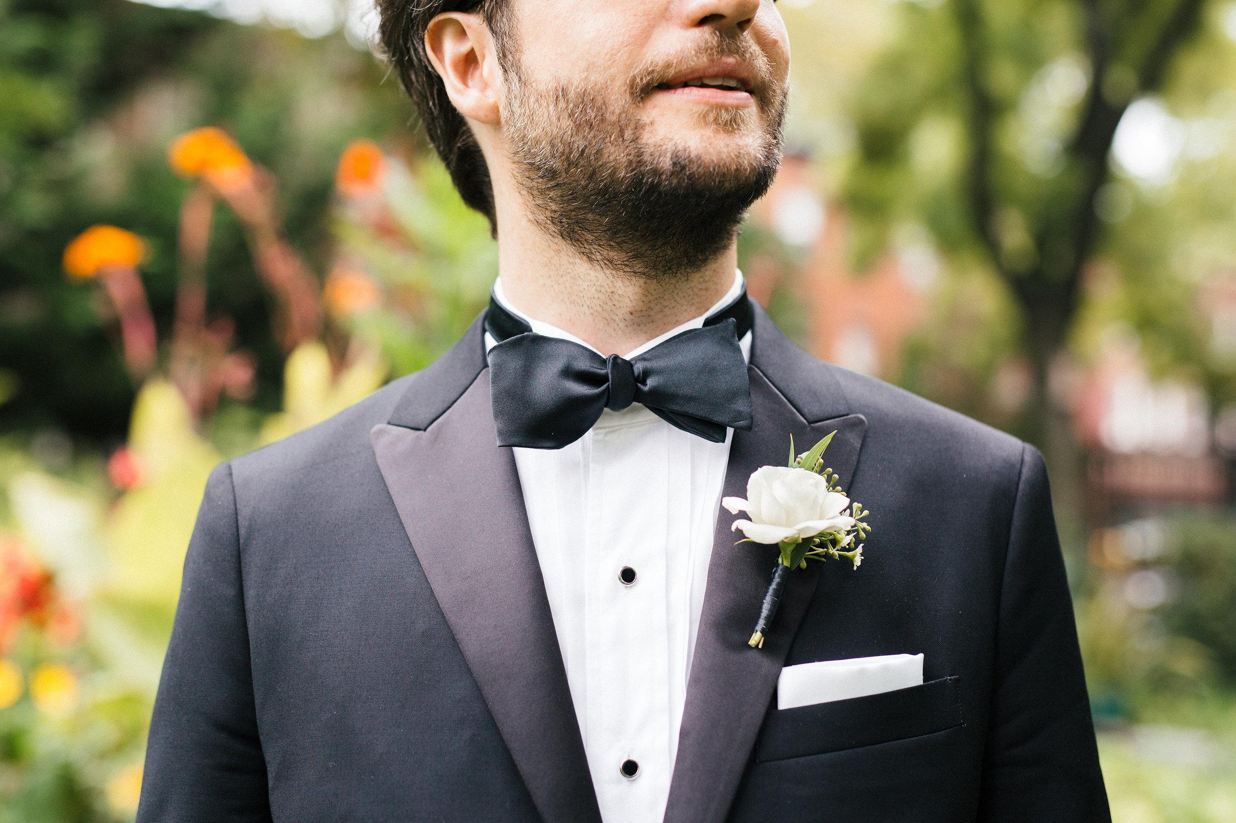 Bow Tie Soho Wedding