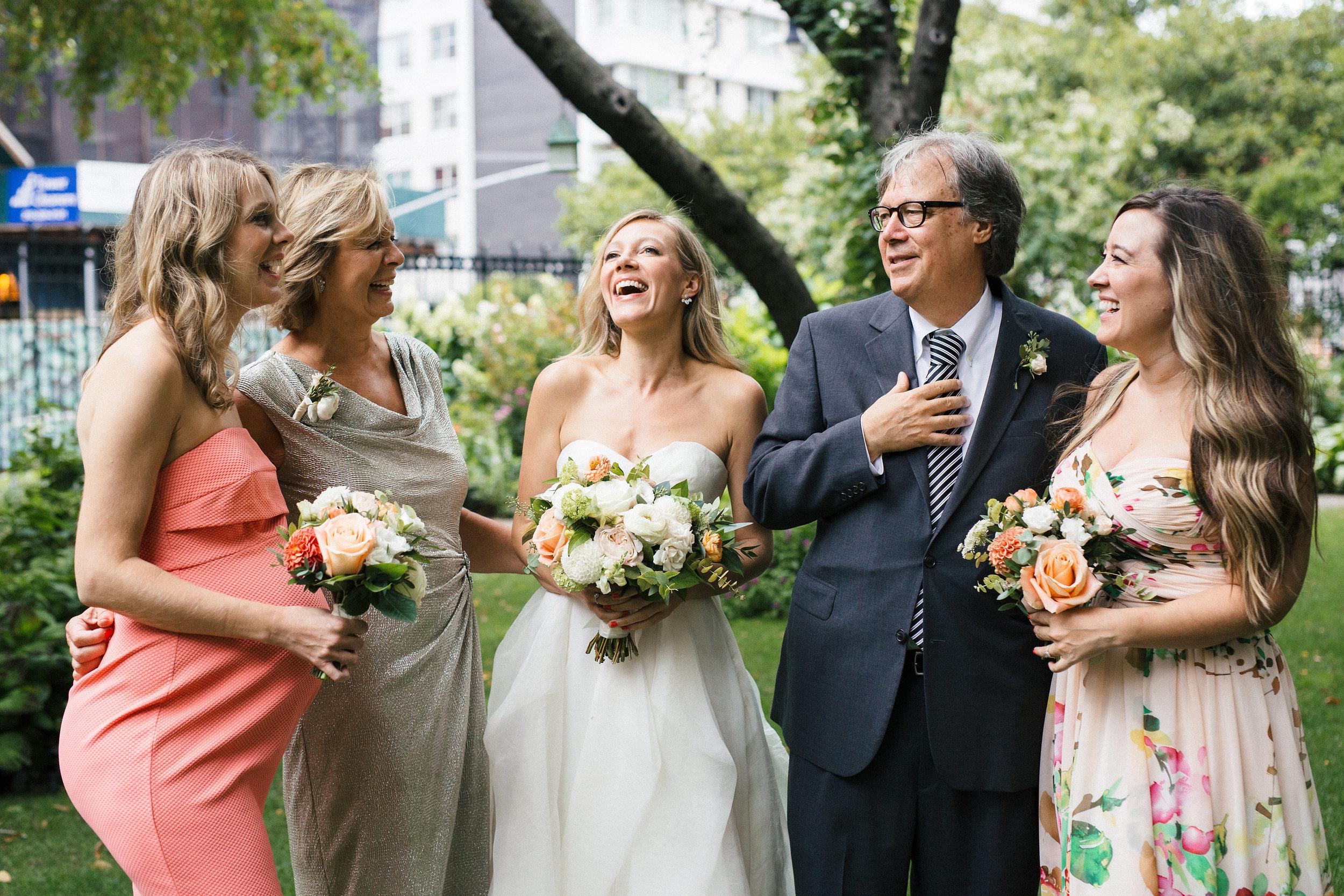 Laughing Soho Wedding