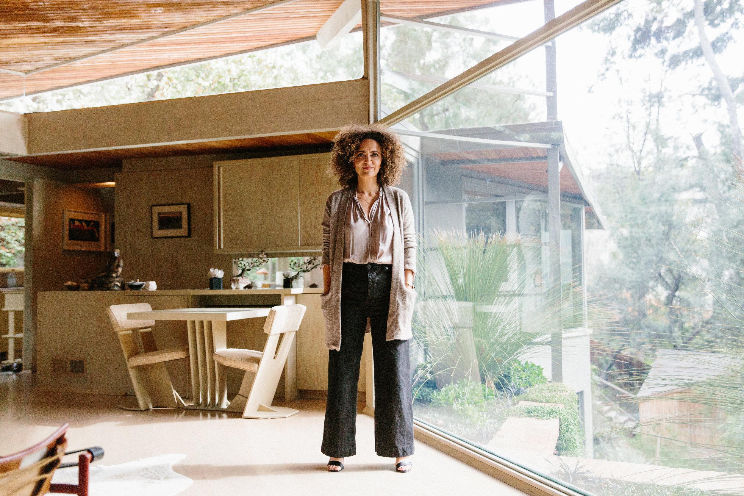 Inside Pamela Shamshiri S Restored R M Schindler Home Interior