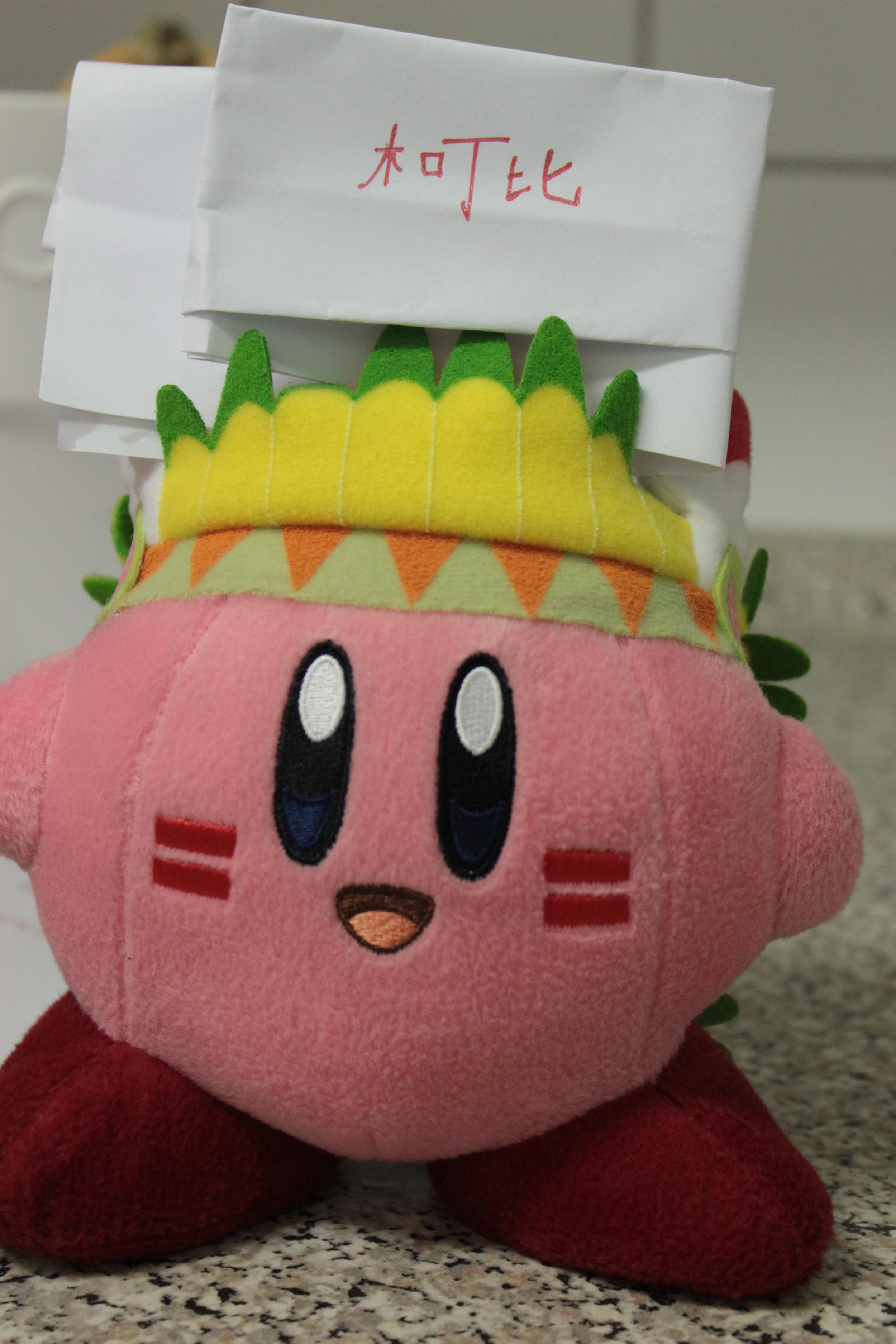 We had to do Kirby's too.