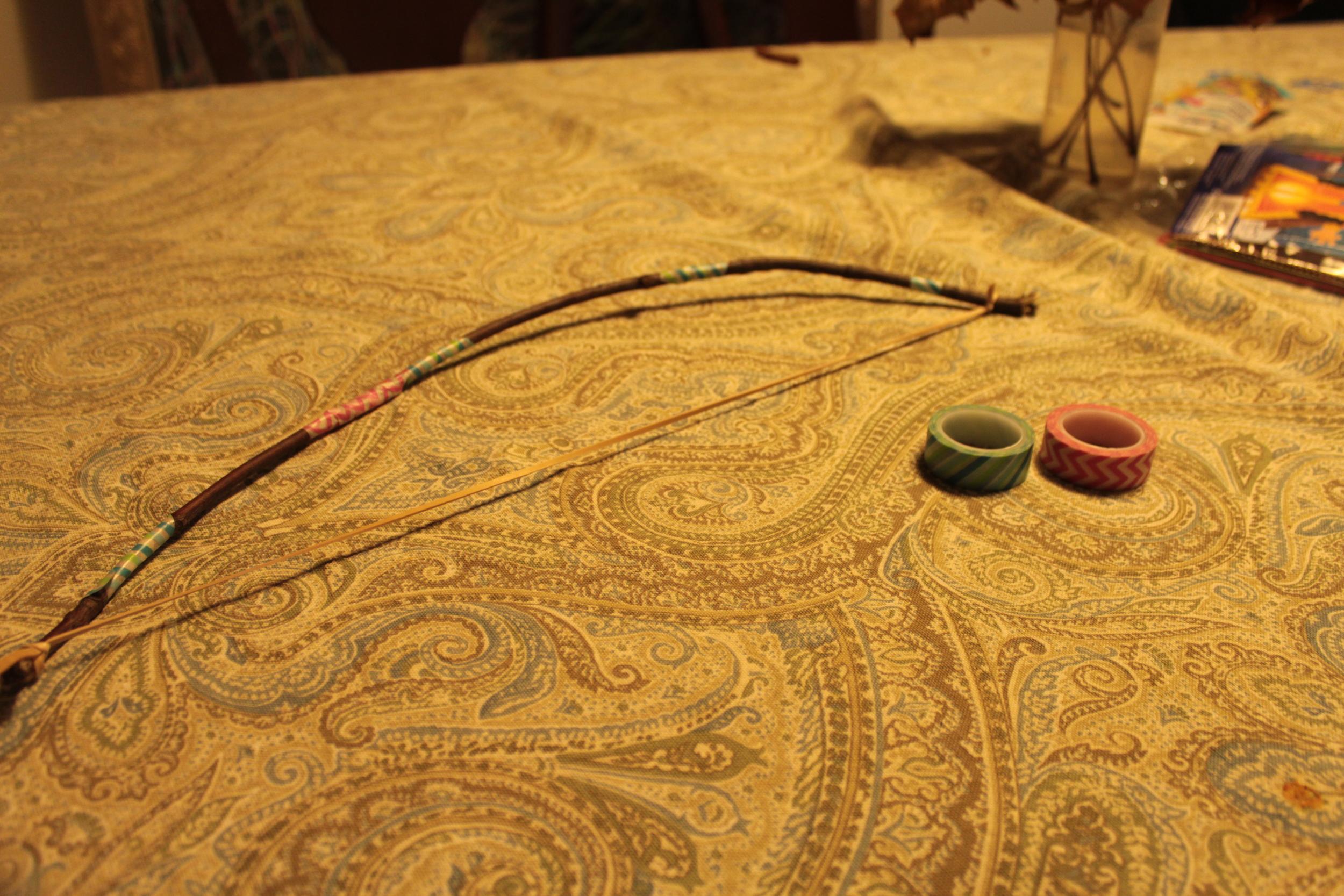 Washi tape decorated.