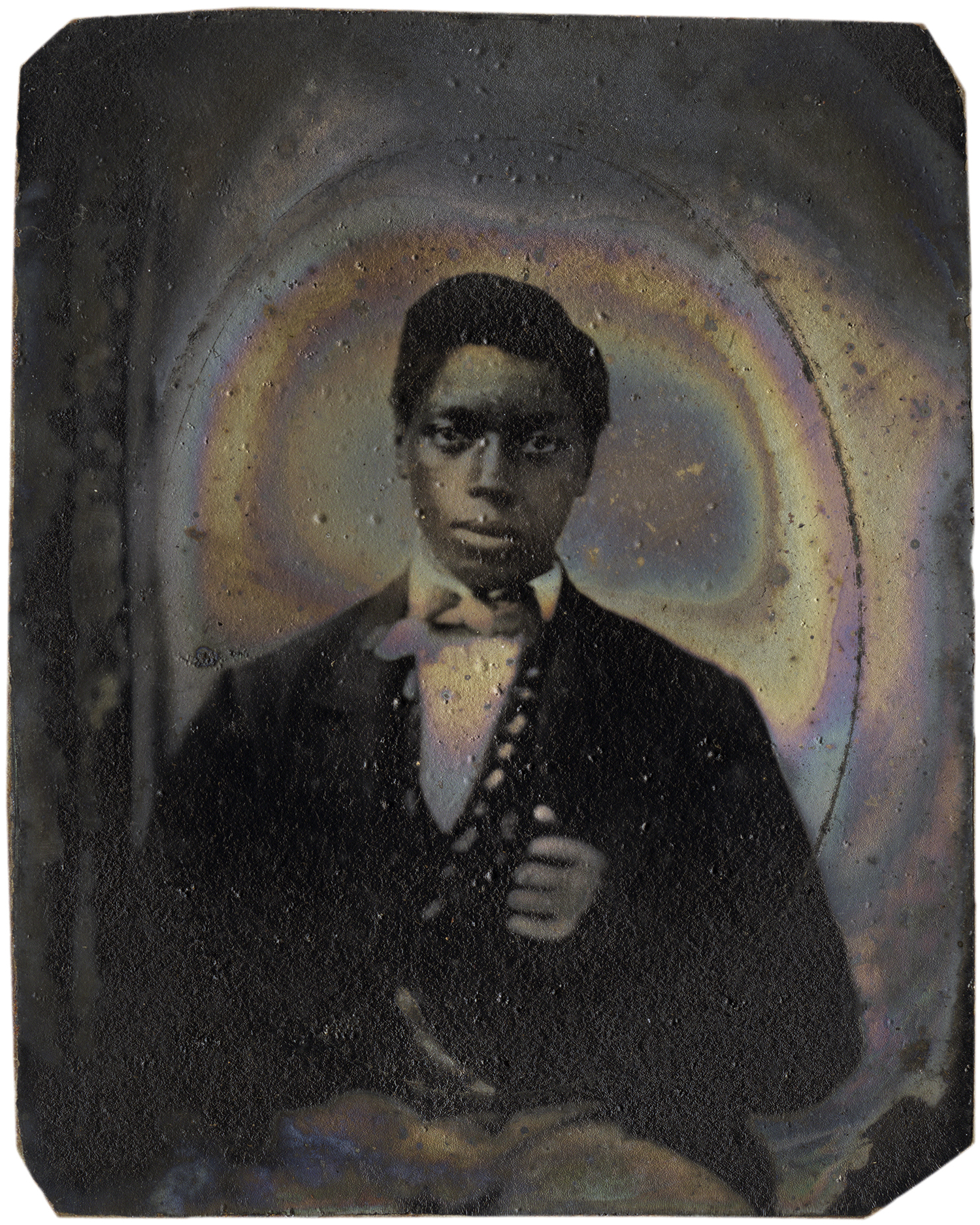 Young Man Wearing Bow Tie, 2011 - LR11960