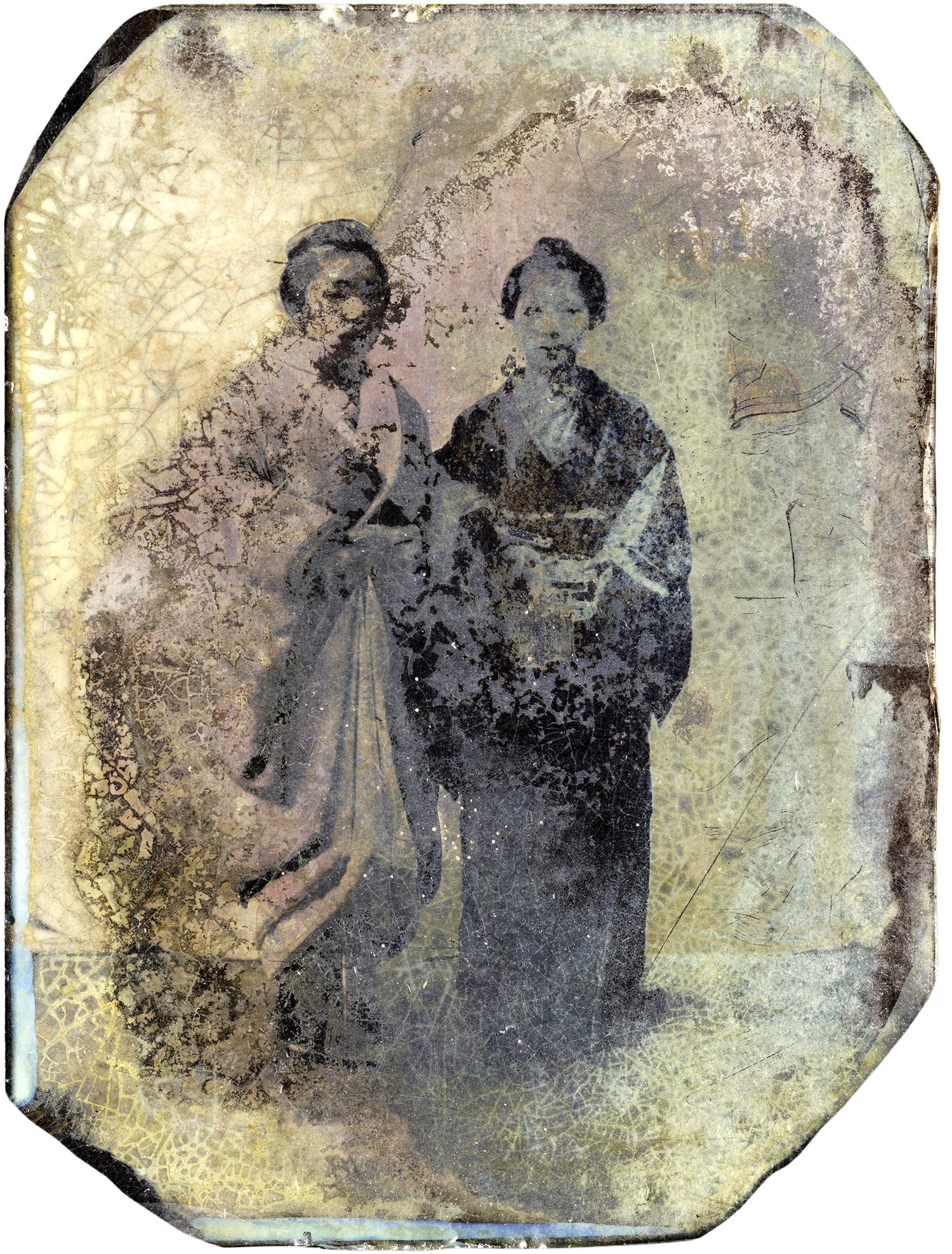 Two Japanese Women, 2012 - LR12052