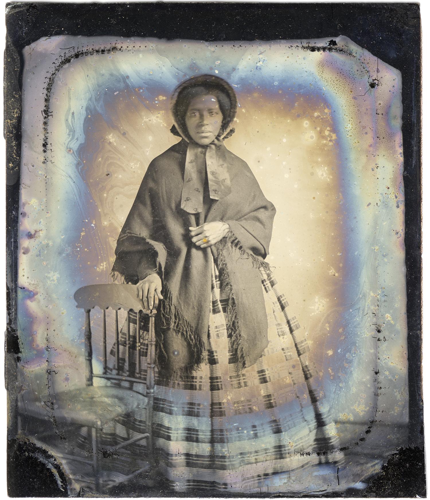 Woman with Shawl, 2013 - LR12165