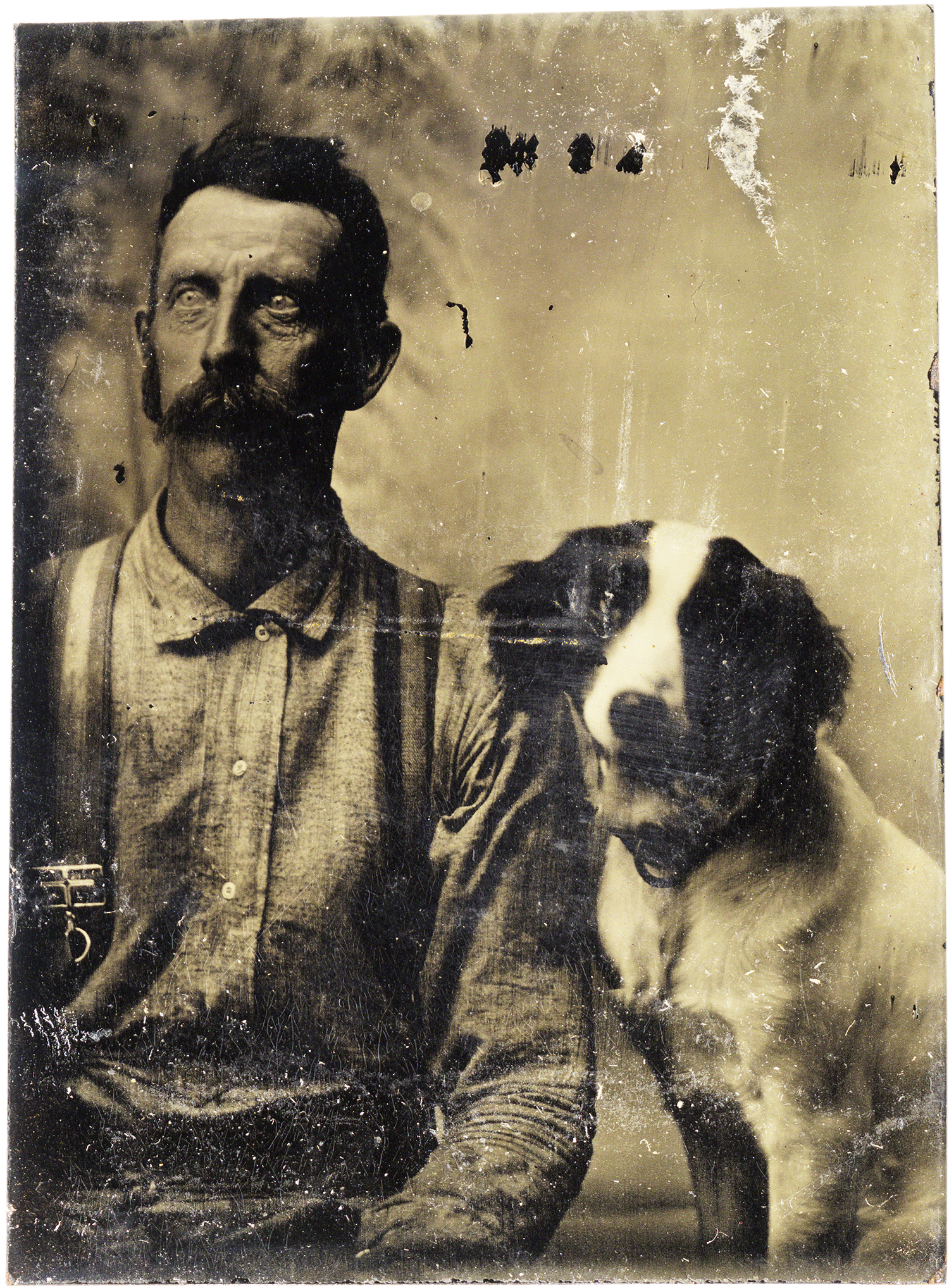 Portarit of a Man and His Dog, 2013 - LR12245