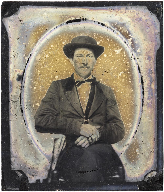 Man with Hat, 2013 - LR12253