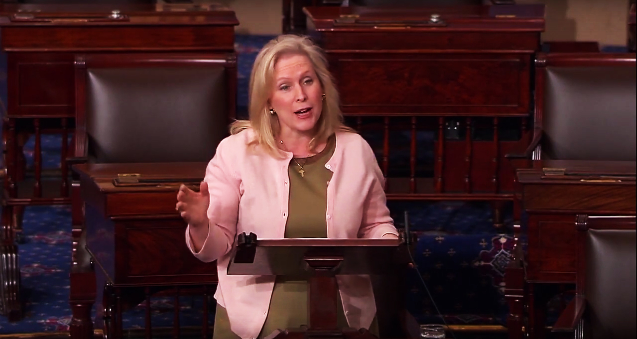 U.S. Senator Kirsten Gillibrand read excerpts of We Believe You on the Senate floor while urging her colleagues to pass the bipartisan Campus Accountability and Safety Act.  Watch the video  and read the transcript of her speech on our website.